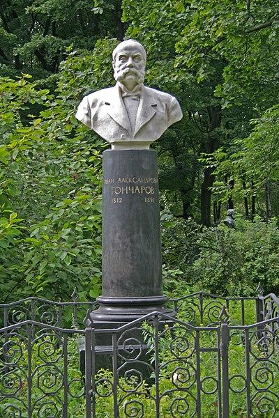 Datei:Literator Bridges Grave Goncharov.jpg