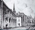 Lithographie de l'église N-D-de-Messines à Mons -121208- fr.jpg
