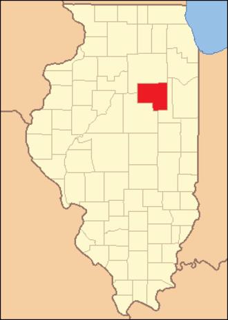 Livingston County, Illinois - Image: Livingston County Illinois 1837