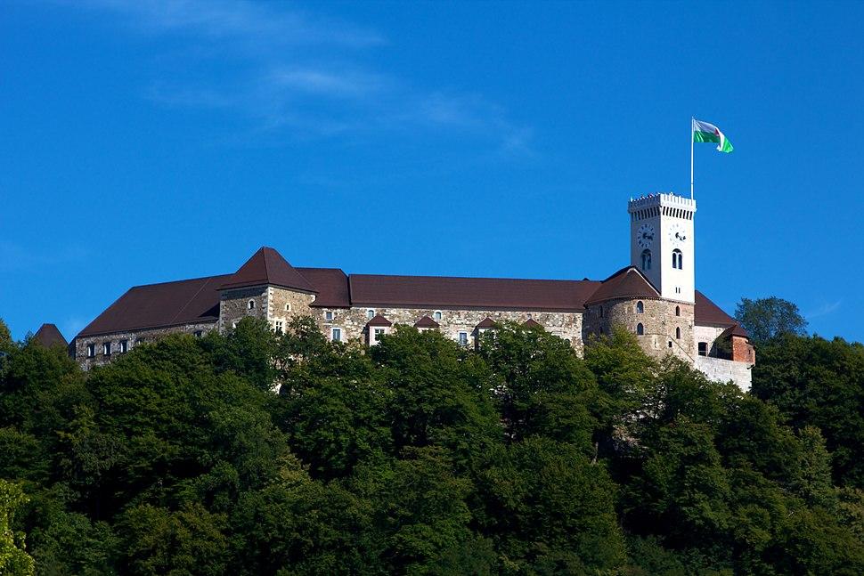 Ljubljana Castle from Ljubljana