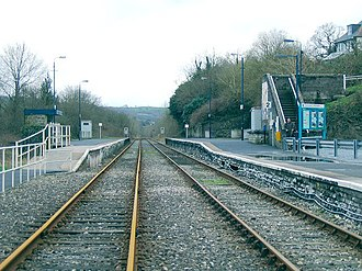 Llandeilo railway station - Image: Llandeilo Railway Station