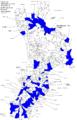 Locali di ndrangheta della Calabria con nomi 2015.png