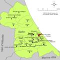 Localització de Guardamar de la Safor respecte de la Safor.png