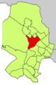 Localització de Son Rapinya respecte del Districte de Ponent.png