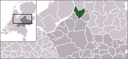Location of Oldebroek
