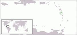 도미니카의 위치