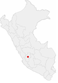 Location of the city of Huancavelica in Peru.png