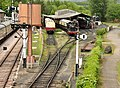 Locomotives at Buckfastleigh railway station.jpg
