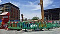 London-Woolwich, Royal Arsenal, Cannon Square - Crossrail Station 22.jpg