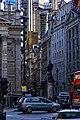 London - Statue of James Henry Greathead 1994 - Cornhill Street - Lloyd's Building.jpg