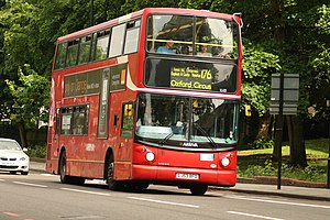 London Buses route 176 - Arriva London Alexander ALX400 bodied Volvo B7TL in Forest Hill in May 2008