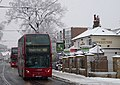 London Buses in the Snow - geograph.org.uk - 1649553.jpg