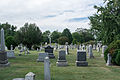 Looking W across section G - Glenwood Cemetery - 2014-09-14.jpg