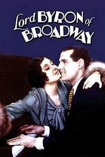 <i>Lord Byron of Broadway</i> 1930 film