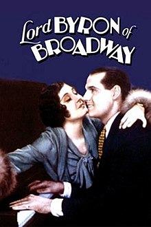 Lord Byron of Broadway (1930) Poster.jpg