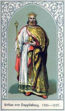 HISTOIRE ABRÉGÉE DE L'ÉGLISE - PAR M. LHOMOND – France - 1818 - DEUXIEME PARTIE ( Images et Cartes) 220px-Lothaire_III