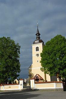 Louňovice pod Blaníkem Church.jpg