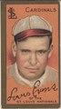 Louis Evans, St. Louis Cardinals, baseball card portrait LCCN2008677415.tif