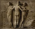 Louis Gabriel Blanchet - Simulated Relief of the Three Graces (1765).jpg