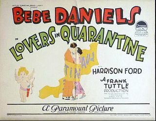 <i>Lovers in Quarantine</i> 1925 film by Frank Tuttle
