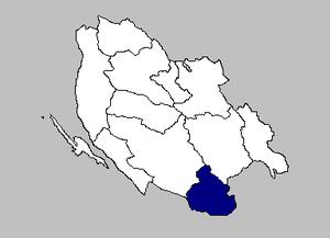 Lovinac - the Lovinac municipality within Lika-Senj County