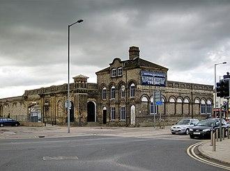 Lowestoft railway station - Lowestoft railway station