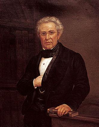 Lucas Alamán - Image: Lucas Alamán, portrait