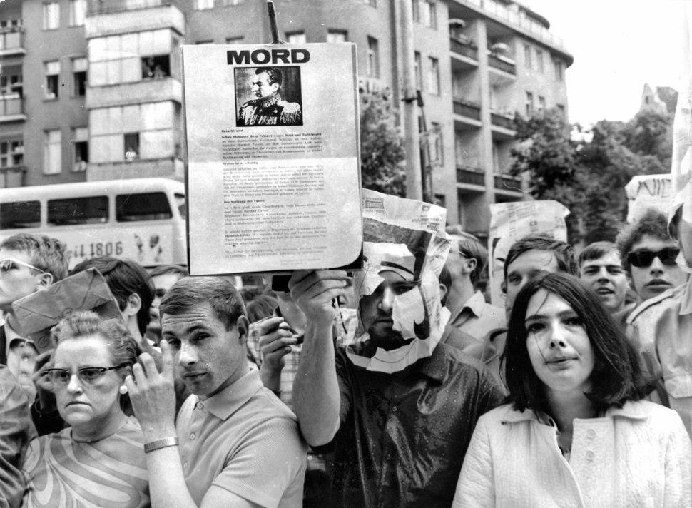 Ludwig Binder Haus der Geschichte Studentenrevolte 1968 2001 03 0275.0138 (16457761403)