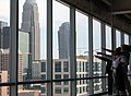 Lunch discussions atop NASCAR tower (3641518703).jpg