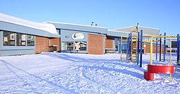 Lutsel K'e Dene School in Winter.jpg