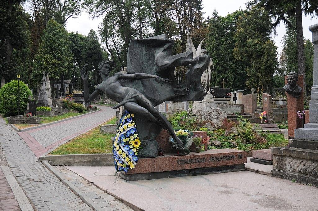 Lviv Cmentarz Lyczakowsky Ludkiewicz DSC 8680 46-101-3106.JPG