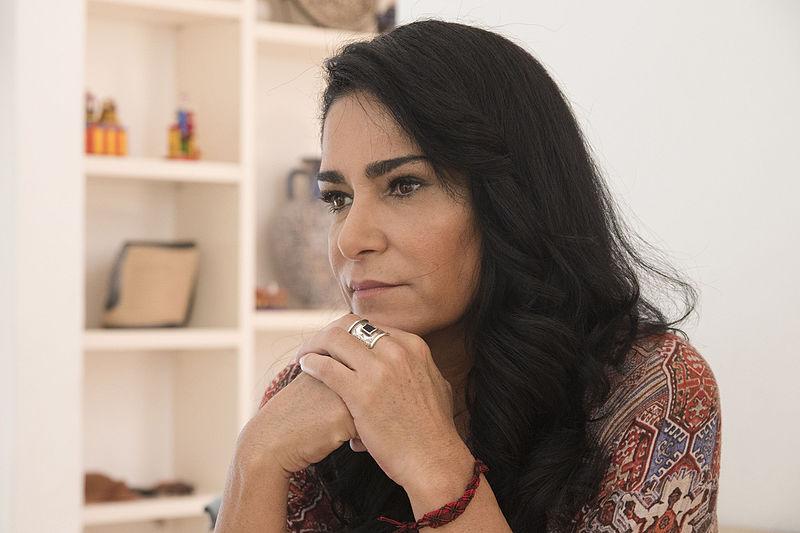 Archivo:Lydia Cacho en entrevista.jpg