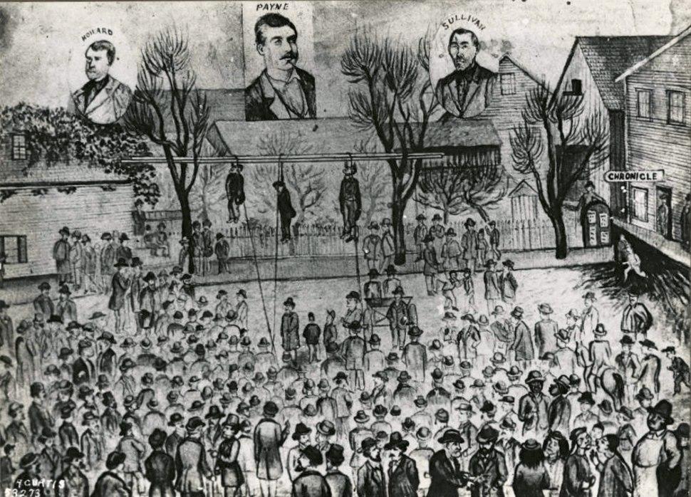 Lynching 1882 by AW Piper