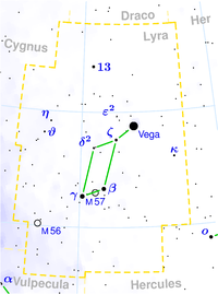 Epsilon Lyrae is located in 100x100