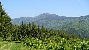 Lysá hora - Image: Lysa berg