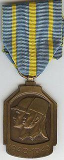 1940–1945 African War Medal