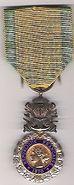 Médaille militaire de l'adjudantchef Mespléde