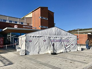 COVID-19 pandemic in Sweden Ongoing COVID-19 viral pandemic in Sweden