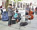 München, Neuhauserstrasse, Strassenmusikanten.jpg