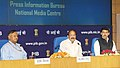 M. Venkaiah Naidu addressing the senior officers of the Ministry of Information & Broadcasting and Media Units, in New Delhi.jpg