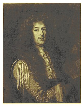 English expedition to Portugal (1662–1668) - Frederick Schomberg who commanded the brigade from 1662 by Willem Wissing