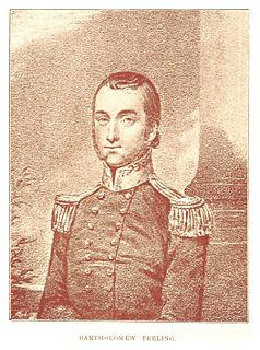 Leader of Irish rebels
