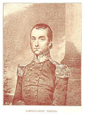 Bartholomew Teeling - Portrait of Bartholomew Teeling
