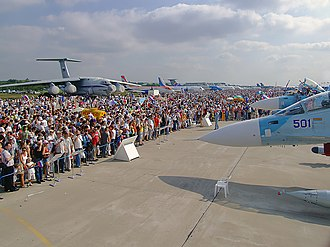 Aircraft industry of Russia - MAKS Airshow is a showcase event for the Russian aircraft industry.