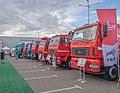 MAZ trucks at Belagro-2019.jpg