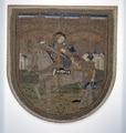 MCC-31218 Koorkapschild met St. Maarten te paard en bedelaar, ingelijst (1).tif