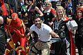 MCM 2013 - Iron Spider, Wolverine & Thor (8978380865).jpg