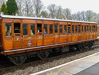 METROPOLITAN Chesham CARRIAGE No 394.JPG