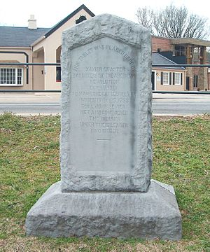 Myrtle Hill Cemetery - Sevier Monument for Battle of Hightower.