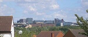 Central Milton Keynes - Image: M Kskyline 2009